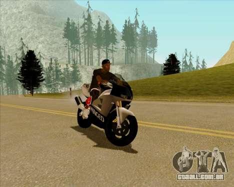 NRG-500 Winged Edition V.2 para GTA San Andreas esquerda vista