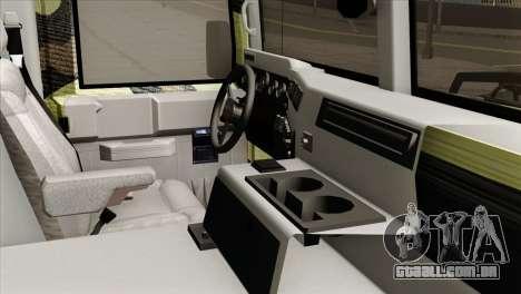 HMMWV M997 Ambulance para GTA San Andreas vista direita