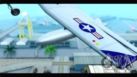 Beechcraft T-6 Texan II  United States Navy para GTA San Andreas vista direita
