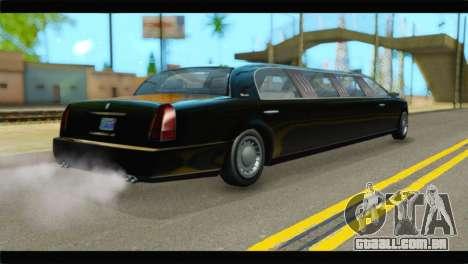 GTA 5 Dundreary Stretch IVF para GTA San Andreas esquerda vista