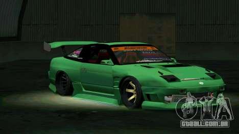 Nissan 180SX para GTA San Andreas