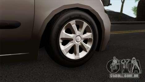 Renault Clio Mio 5P para GTA San Andreas traseira esquerda vista