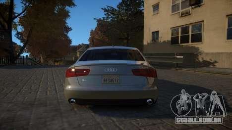 Audi A6 2012 v1.0 para GTA 4 vista direita