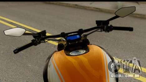 Ducati Diavel 2012 para GTA San Andreas traseira esquerda vista