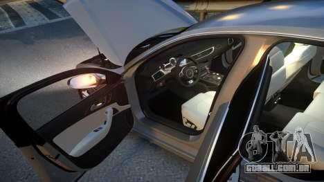 Audi S6 v1.0 2013 para GTA 4 vista superior