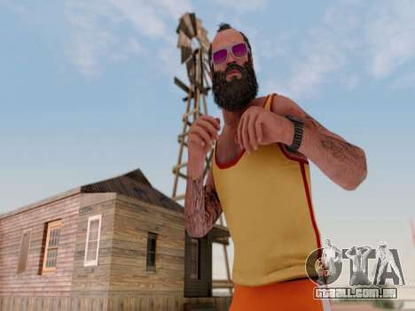 ENB para médias e PC pela WD para GTA San Andreas terceira tela