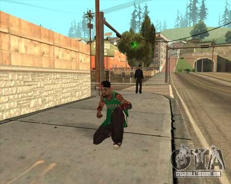 Grove HD para GTA San Andreas por diante tela