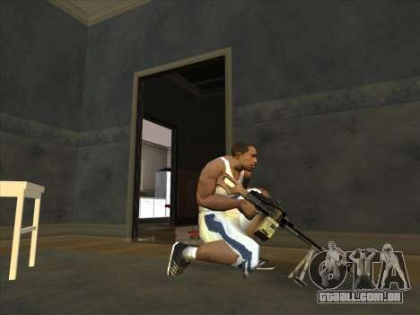 PCM de Battlefield 2 para GTA San Andreas segunda tela