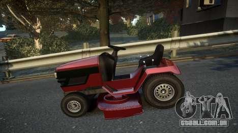 GTA V Lawn Mower para GTA 4 esquerda vista