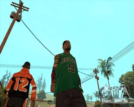 Grove HD para GTA San Andreas segunda tela