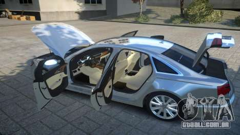 Audi A6 2012 v1.0 para GTA 4 vista superior
