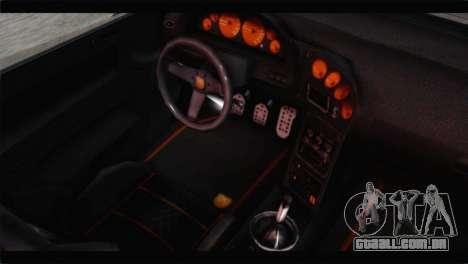 GTA 5 Pegassi Zentorno Spider para GTA San Andreas vista traseira