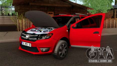 Dacia Logan MCV 2013 HQLM para GTA San Andreas vista direita