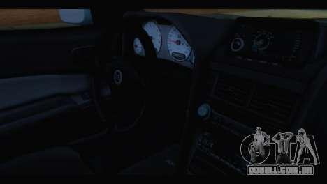 Nissan Skyline R34 BudMat para GTA San Andreas vista direita