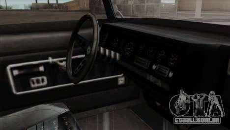 GTA 5 Lampadati Casco IVF para GTA San Andreas vista direita