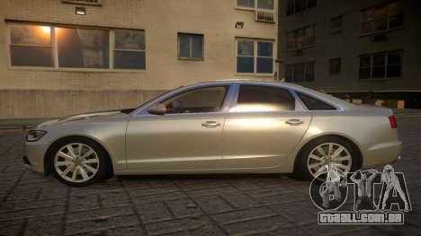 Audi A6 2012 v1.0 para GTA 4 esquerda vista