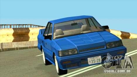 Nissan Skyline R31 para GTA San Andreas vista traseira