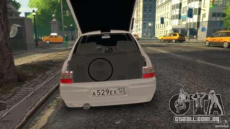 VAZ 2112 coupé BadBoy para GTA 4 vista direita