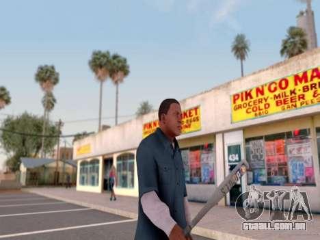 ENB para médias e PC pela WD para GTA San Andreas sexta tela