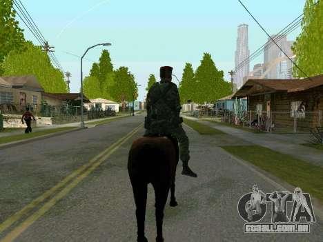 Kuban Cossaco para GTA San Andreas quinto tela