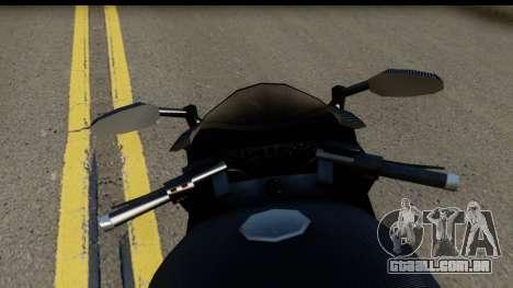 GTA 5 Carbon RS para GTA San Andreas traseira esquerda vista