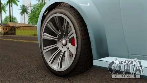 GTA 5 Ubermacht Zion XS Cabrio IVF para GTA San Andreas traseira esquerda vista