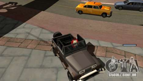 Novo tom, sem perder FPS para GTA San Andreas twelth tela