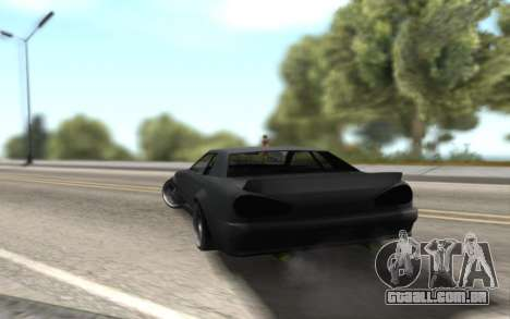 Elegy Drift by Randy v1.1 para GTA San Andreas esquerda vista