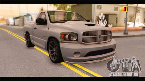 Dodge Ram SRT10 2006 Stock para GTA San Andreas
