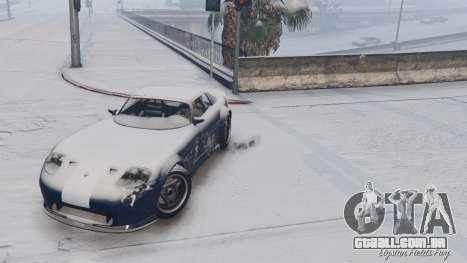 GTA 5 GTA V Online Snow Mod quinta imagem de tela