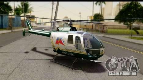 MBB Bo-105 Air Med para GTA San Andreas