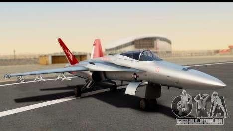 McDonnell Douglas FA-18C Hornet VMFA-232 USMC para GTA San Andreas