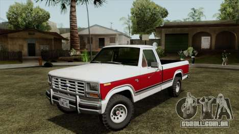 Ford F-150 1982 Final para GTA San Andreas