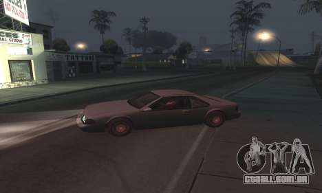 Beautiful ENB + Colormod 1.3 para GTA San Andreas quinto tela