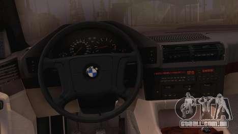 BMW 525i E34 2.0 para GTA San Andreas vista direita