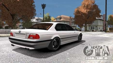 BMW 750i e38 1994 Final para GTA 4 interior