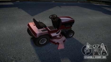 GTA V Lawn Mower para GTA 4 vista direita