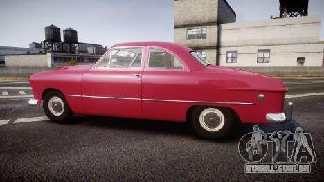 Ford Business 1949 v2.2 para GTA 4 esquerda vista