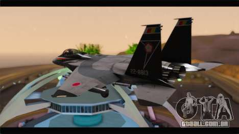 F-15J Hyakuri Air Base 30th Anniversary para GTA San Andreas esquerda vista
