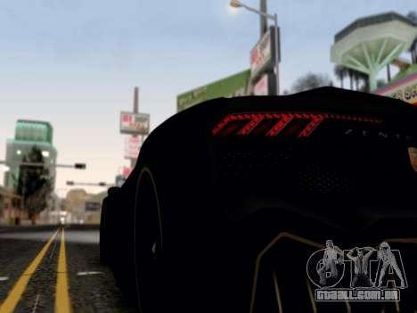 ENB para médias e PC pela WD para GTA San Andreas por diante tela