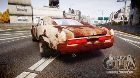 Imponte Dukes Beater para GTA 4 traseira esquerda vista