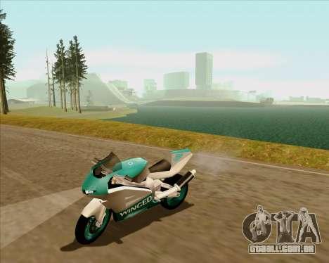 NRG-500 Winged Edition V.2 para GTA San Andreas vista superior