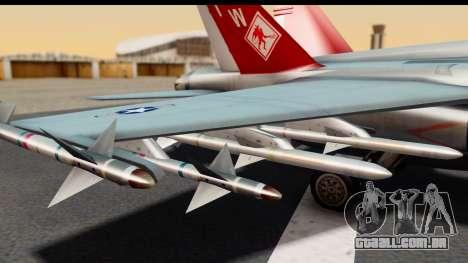 McDonnell Douglas FA-18C Hornet VMFA-232 USMC para GTA San Andreas vista direita