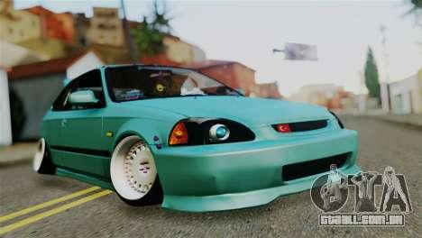 Honda Civic 1.4 Hatcback para GTA San Andreas