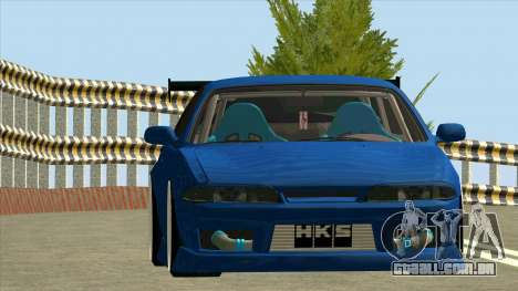 Nissan Silvia S14 Zenki para GTA San Andreas traseira esquerda vista