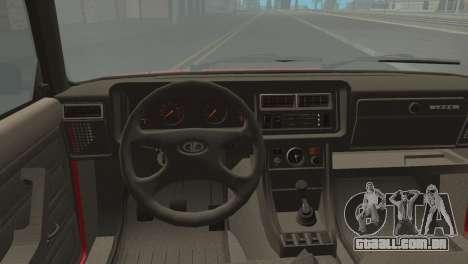 VAZ M para GTA San Andreas traseira esquerda vista
