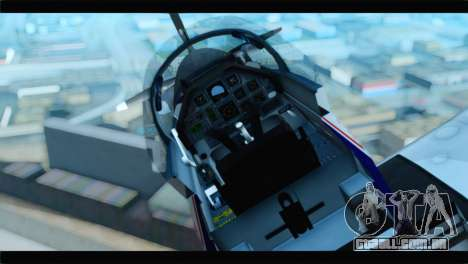 Beechcraft T-6 Texan II  United States Navy para GTA San Andreas vista traseira
