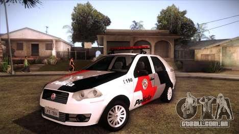 Fiat Siena 2011 para GTA San Andreas