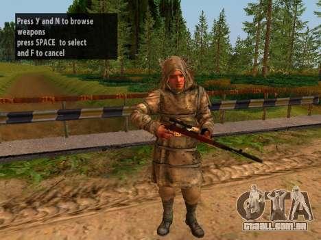 Soviética Sniper para GTA San Andreas