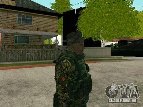 Kuban Cossaco para GTA San Andreas sexta tela